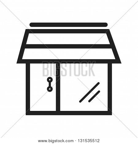 Shopping, cart, bag icon vector image. Can also be used for shopping. Suitable for use on web apps, mobile apps and print media.