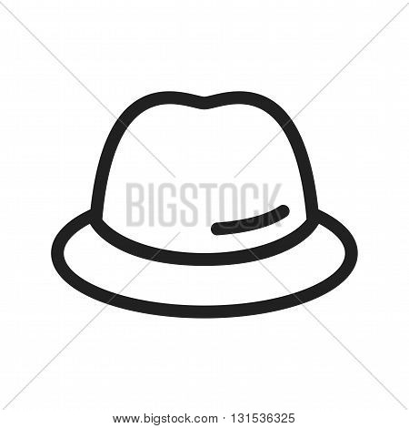 Cap, head, hat icon vector image. Can also be used for shopping. Suitable for use on web apps, mobile apps and print media.