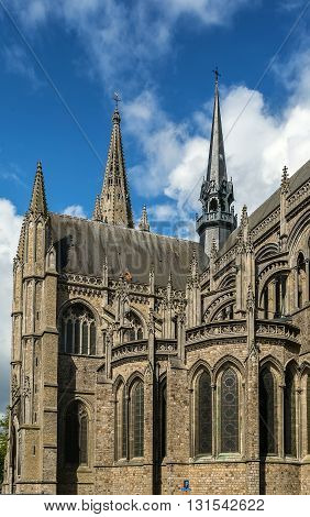 St Martin's Cathedral is a church and former cathedral in the Belgian city of Ypres