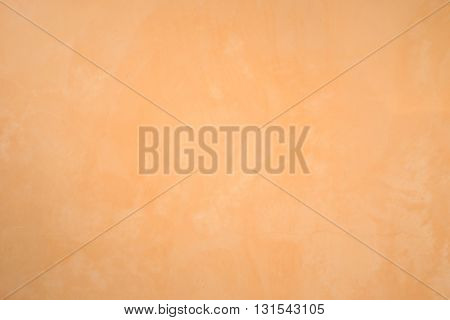 Abstract Orange Cement Wall Texture And Background