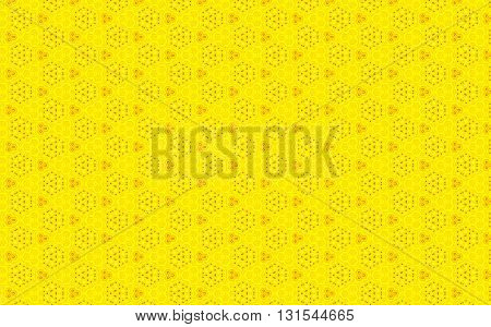 Bright Light Yellow color vintage pattern background