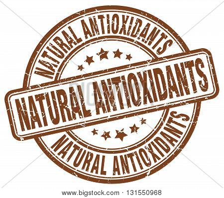 natural antioxidants brown grunge round vintage rubber stamp.natural antioxidants stamp.natural antioxidants round stamp.natural antioxidants grunge stamp.natural antioxidants.natural antioxidants vintage stamp.