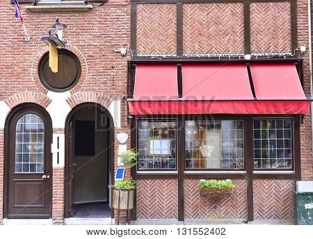 Old restaurant or pub in the Netherlands.
