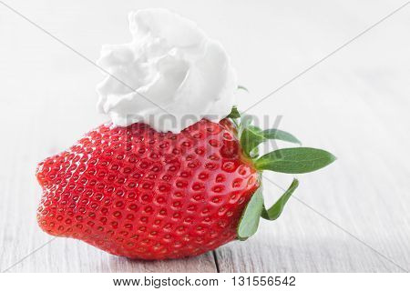 Whipped Cream Strawberry