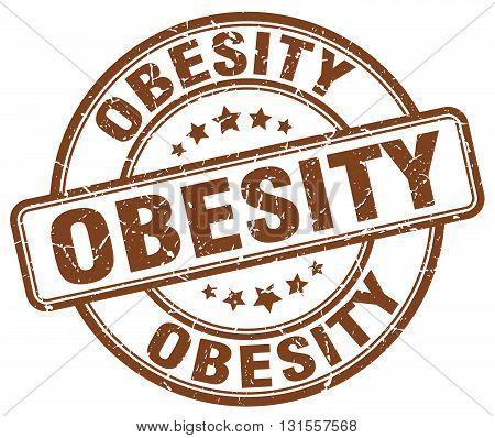 obesity brown grunge round vintage rubber stamp.obesity stamp.obesity round stamp.obesity grunge stamp.obesity.obesity vintage stamp.