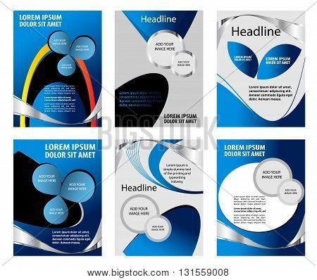 Vector background curve line on space overlap layer graphic for text and message modern artwork design