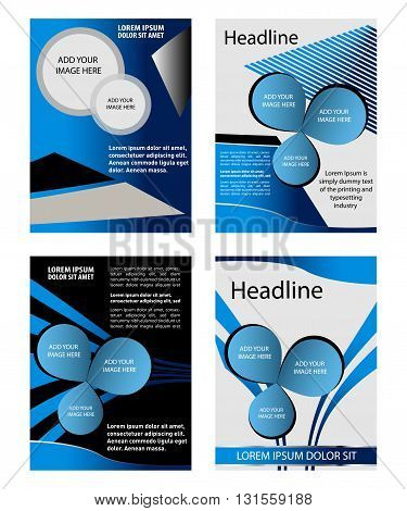 background vector line curve for text and message design