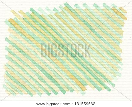 watercolor yellow green cross pattern abstract background textures