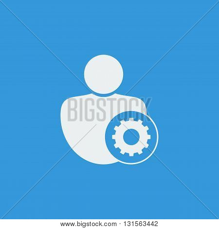 User Settings Icon In Vector Format. Premium Quality User Settings Symbol. Web Graphic User Settings