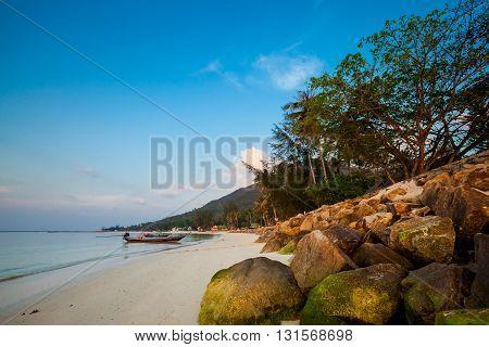 Sunset On Chalokum Beach