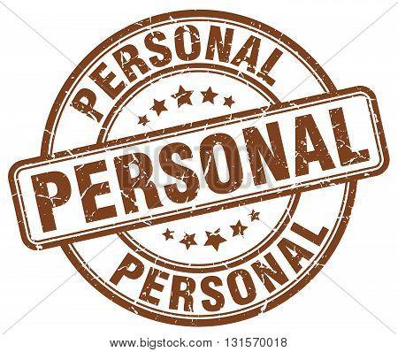 personal brown grunge round vintage rubber stamp.personal stamp.personal round stamp.personal grunge stamp.personal.personal vintage stamp.