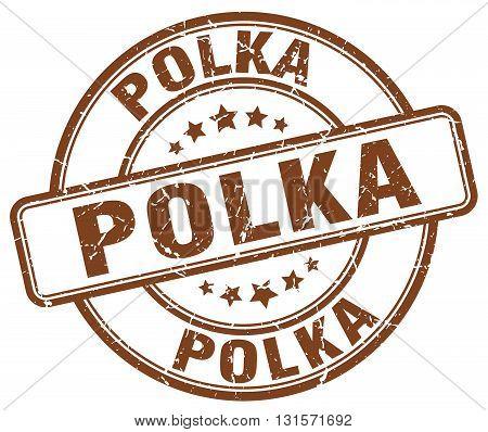polka brown grunge round vintage rubber stamp.polka stamp.polka round stamp.polka grunge stamp.polka.polka vintage stamp.