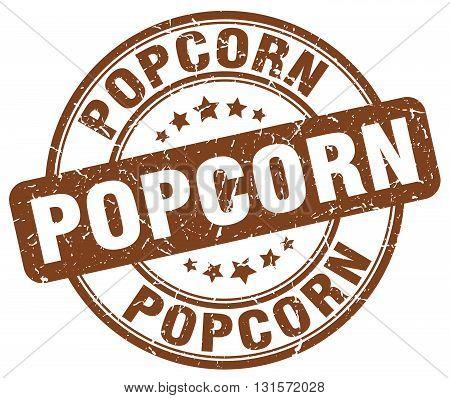 popcorn brown grunge round vintage rubber stamp.popcorn stamp.popcorn round stamp.popcorn grunge stamp.popcorn.popcorn vintage stamp.