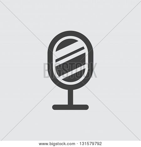 Mirror icon illustration isolated vector sign symbol