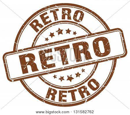 retro brown grunge round vintage rubber stamp.retro stamp.retro round stamp.retro grunge stamp.retro.retro vintage stamp.