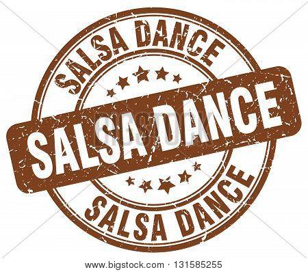 salsa dance brown grunge round vintage rubber stamp.salsa dance stamp.salsa dance round stamp.salsa dance grunge stamp.salsa dance.salsa dance vintage stamp.