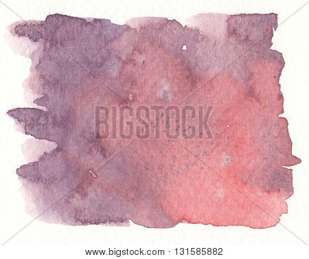 abstract red watercolor with purple grunge dirty textures
