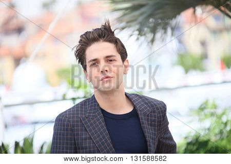 CANNES, FRANCE - MAY 19:  Xavier Dolan attends 'It's Only The End Of The World (Juste La Fin Du Monde)' during the Photocall - The 69th Cannes Film Festival on May 19, 2016 in Cannes.