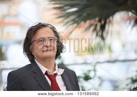 CANNES, FRANCE - MAY 19: Jean-Pierre Leaud attends the 'La Mort De Louis XIV' Photocall during the 69th annual Cannes Film Festival at the Palais des Festivals on May 19, 2016 in Cannes, France.