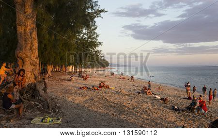 Saint Gilles Beach, La Reunion Island, France