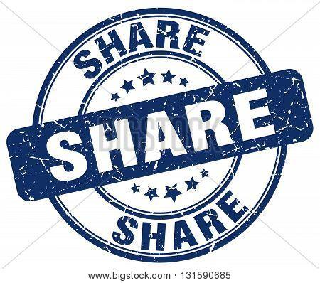 share blue grunge round vintage rubber stamp.share stamp.share round stamp.share grunge stamp.share.share vintage stamp.