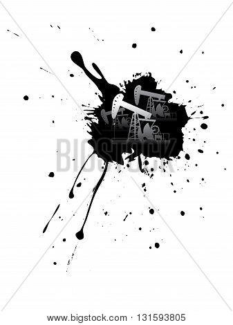Grunge Oil Pump