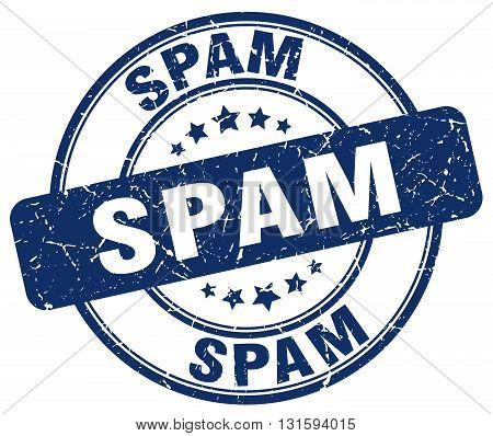 spam blue grunge round vintage rubber stamp.spam stamp.spam round stamp.spam grunge stamp.spam.spam vintage stamp.