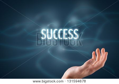 Be in touch with your success. Magic touch to be successful.