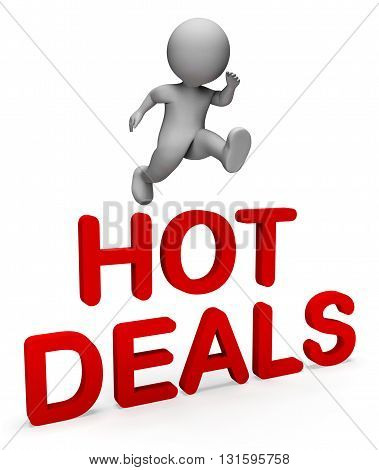 Hot Deals Shows Top Notch And Bargain 3D Rendering