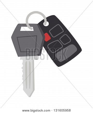 Car key with remote control and car keys vector. Car keys automobile security lock and car keys remote control alarm. Car keys transportation new unlock object, car keys wireless technology.