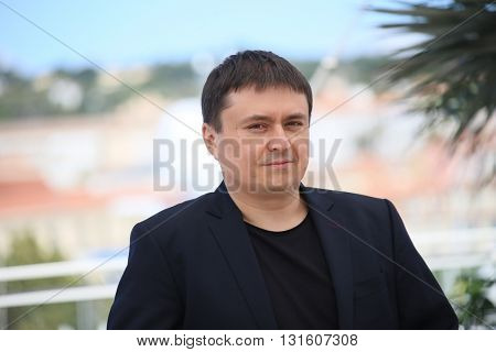 Crisitan Mungiu attends the 'Graduation (Bacalaureat)' Photocall during the 69th  Cannes Film Festival at the Palais  on May 19, 2016 in Cannes, France.