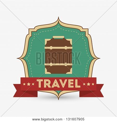Travel concept with icon design, vector illustration 10 eps graphic.