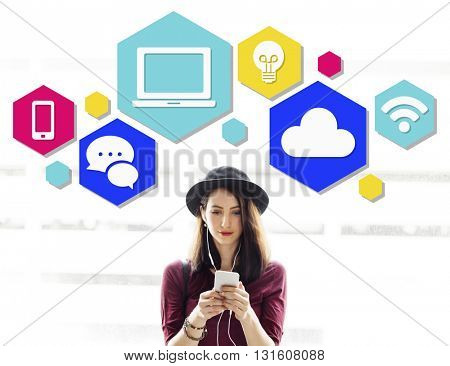 Internet Connection Technology Computer Social Concept