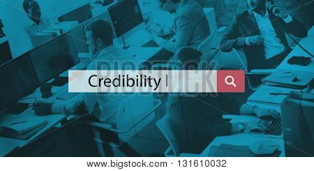 Credibility Believable Information Inspiration Concept