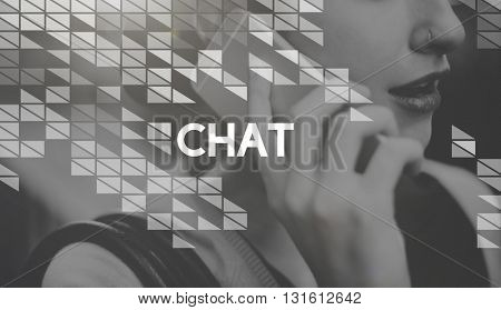 Chat Connection Communication Social Networking Technology Concept