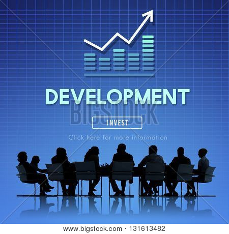Development Improvement Management Success Concept