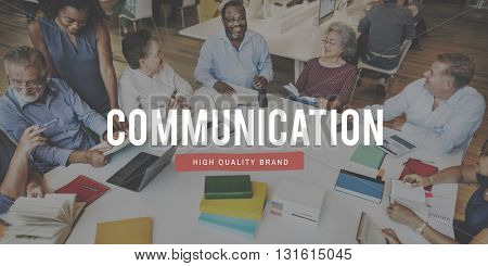 Communicate Communication Connection Socialize People Concept