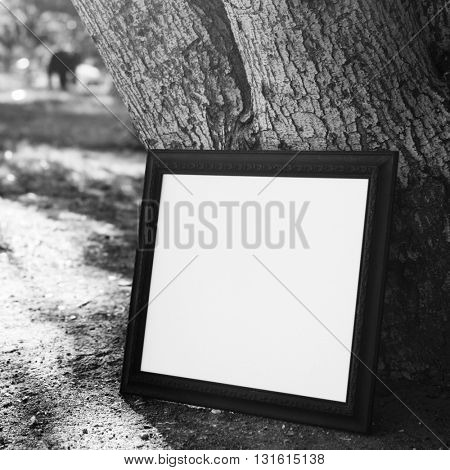 Business Picture Frame Copy Space Concept