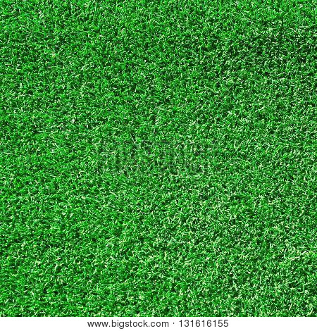 Close up of the artificial grass turf background