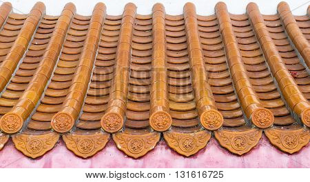 roof tile texture background for continuous replicate.