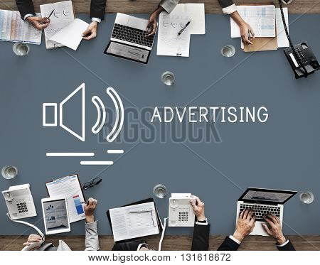 Advertising Advertise Business Commercial Marketing Concept