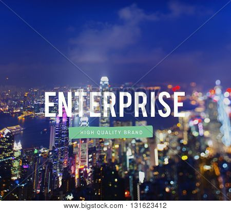 Enterprise Investment Firm Corporation Business Concept