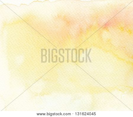 pale paint yellow tones abstract watercolor background