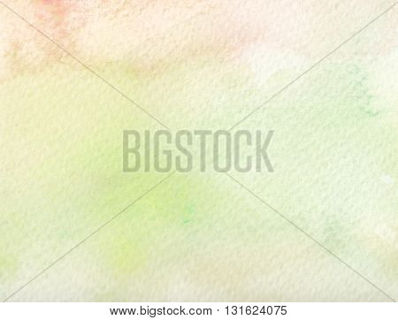 faded green paint abstract plain watercolor background