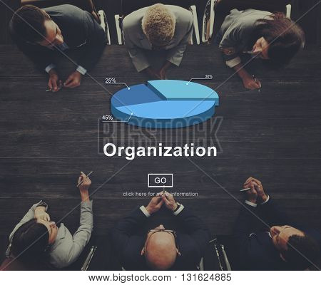 Organization Management Business strategy Collaboration Concept