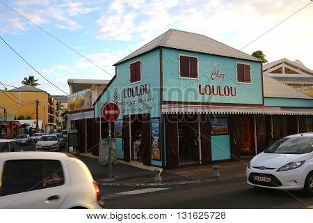 Loulou Bakery In Saint Gilles, La Reunion Island, France