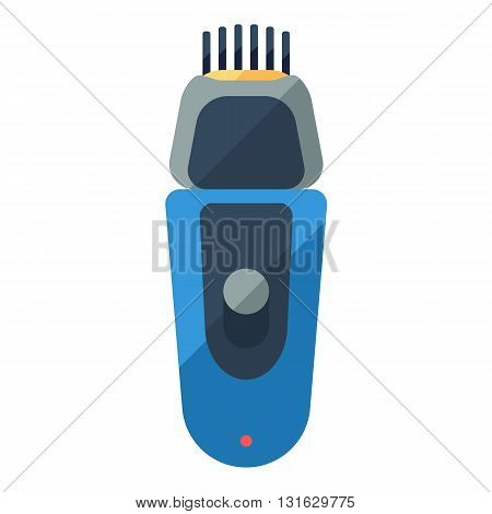 Shaver flat icon for home shave or barbershop