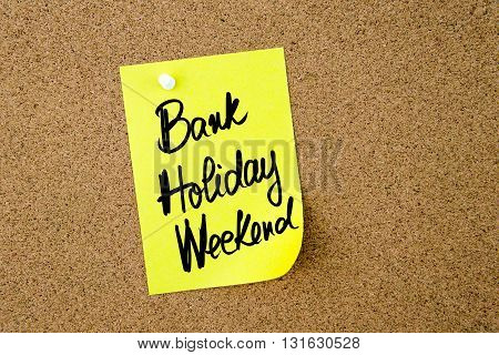 Business Acronym Bhw Bank Holiday Weekend