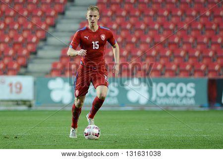 PRAGUE 31/03/2015 _ Jan Baranek. Friendly match Czech Reublic U21 - Portugal U21