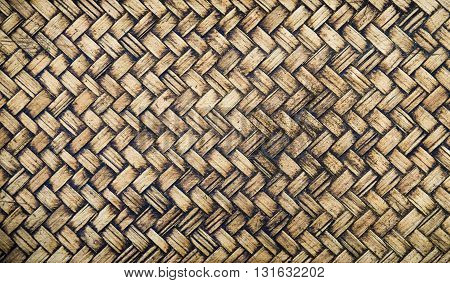 Old wicker texture background, bamboo, texture, weave